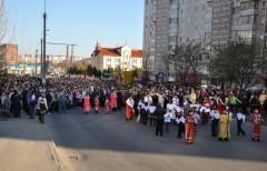 Хресна дорога вулицями парафії св. Петра