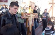 Перед візерунком Хреста Святого Дам'яна навернувся св. Франциск