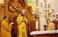 На Святій Літургії єпископ є образом самого Ісуса Христа