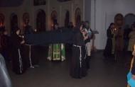 Під час транзітус внесено тіло вмираючого Франциска