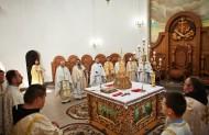 Собор священнослужителів на празничній Літургії