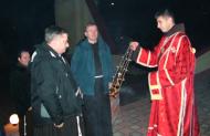 Зустріч Протоархимандрита при вході в Церкву