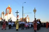 Вихід процесії з храму св. Петра