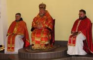 Урочисту Службу Божу очолив Владика Василій