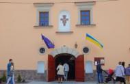 Вхід до Храму Чесного Хреста Св. Дам`яна