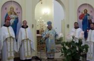 Диякона Патрика привітав теж архимандрит Езра