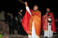 Посвячення памятника св. Франциска