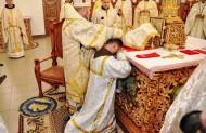 Найважливіший момент свячень, накладання рук єпископа