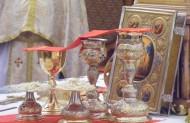 Центром усього Літургійного дійства є Христос-Лоґос, та Євхаристійний Ісус під видами Хліба і Вина